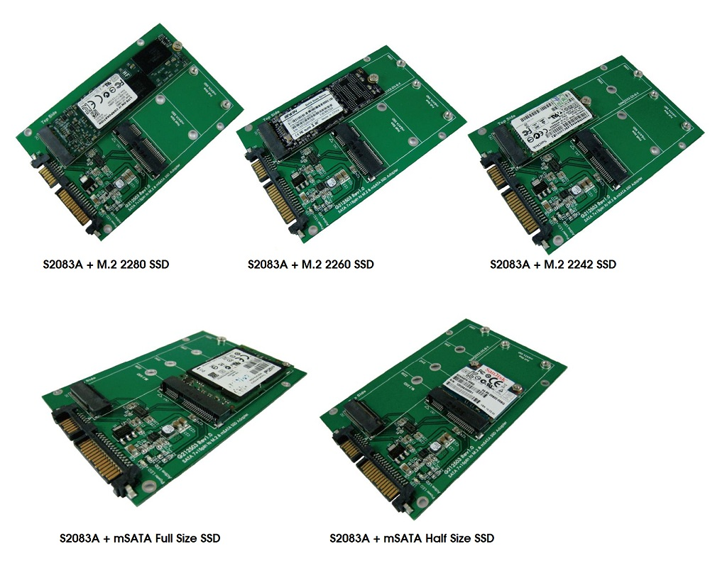 how to use msata ssd
